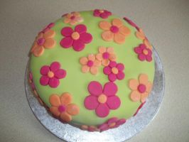 Flower Cake by LianneC