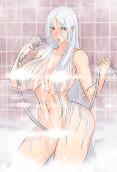 Jeane bath time by Devil-V