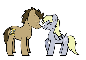 Ditzy X Whooves by TheChaoticMistress