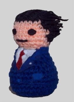 Presenting: Phoenix Wright by Coconut-Soldier
