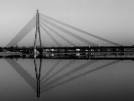 Strings On Water_BW by gio182