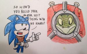 Boom: Rude Sonic by TheJege12