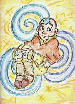 Happy Little Airbender by Hukkis