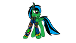 Fallout Equestria Christian Omega by commanderchristian
