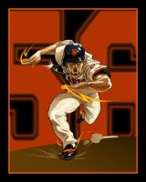 Andres Torres - SF Giants by akira337