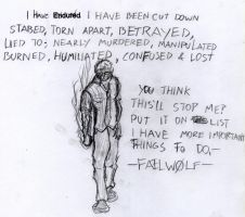 I Have Endured by WolfMK47