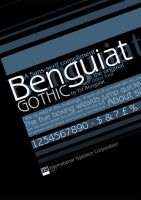 Benguiat Gothic by MissAisling