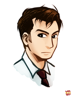 10th Doctor by norang94