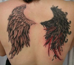 Angel Wing Tattoos on Tattoos Angel Wings Aims To Find All   Tattoos   Zimbio