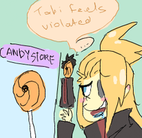 CANDY VIOLATION by BaronBamboozle