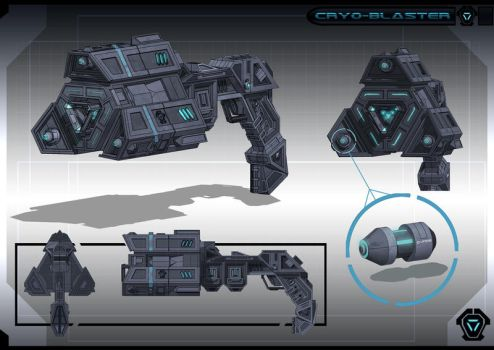 Cryo-Blaster by JustMick