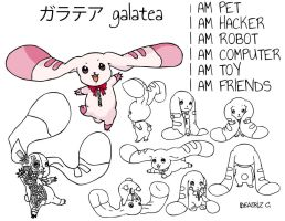 Rabbot Galatea by Bechanlollipop