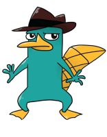 Perry The AGENT Platypus by NSYee36