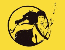 The Dragon: Bruce Lee by warholstein