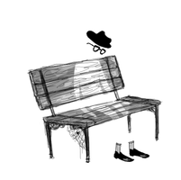 Ghost Bench by annit-the-conqueror