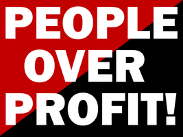 People Over Profit by Party9999999