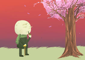 I am older than this tree. by snackguardians