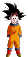 Goku Jr - Clown Costume by DarkAngelxVegeta