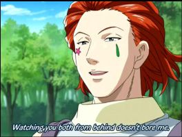 Hisoka, The Perve by kitticaitlin1