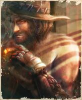 Jesse McCree.Days Long Gone by Seiorai