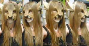 Larp Mask: Doe by Magpieb0nes