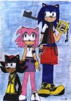 Kingdom Hearts-Sonic crossover by Shadow-Luna