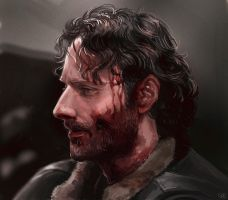 The walking dead - Rick Grimes by maXKennedy