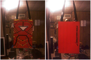 Iron Man Purse by no-role-model