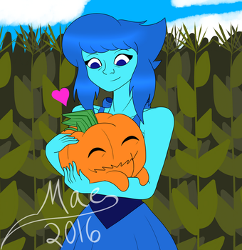 Lapis' New Pet by dizzy--mae