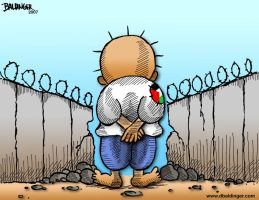 The Wall Will Fall- davidbdr by inPalestine
