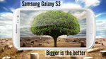 Samsung Galaxy S3 the big thing Wallpaper 1080p by wahashmi