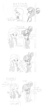 Collab Sketch  with Twilite-Sparkleplz by TheWanderer93