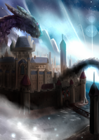 Dragon Castle by evall81613058
