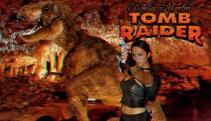 Tomb Raider cosplay 3D wp starring Noelia Martin by SWFan1977