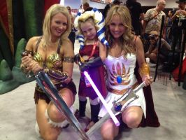Cosplaying starts very young by Shyree