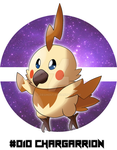 Pokemon Space / Void - #010 CHARGARRION by BunnyZiegs