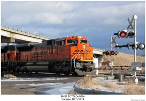 BNSF SD70ACe 9084 by hunter1828