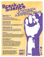 Domestic Violence Awareness We by WildeMoon