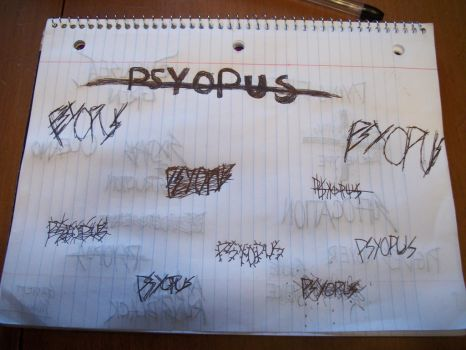 Psyopus style titles by TheGarbear98