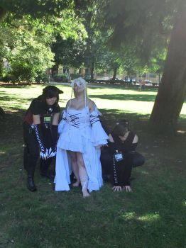 Alyss and her Knights - kumoricon 2012 by Urgal