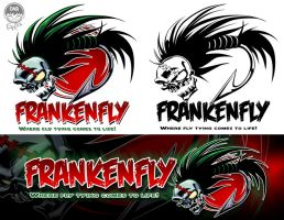 FrankenFly - Logo and Banner - Commission by EryckWebbGraphics