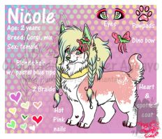 Biskizit design trade :Nicole: by PinkScooby54