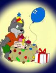 Happy birthday my friend Dave by WolfFoxHybrid