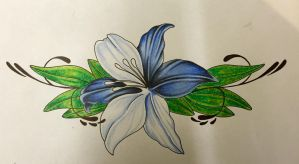 Lily tattoo design by ajd01
