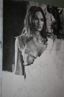 Megan Fox last WIP by Angelstorm-82