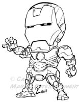 quick Iron Man by dekarogue