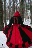 Queen of Hearts Sweater Coat by smarmy-clothes