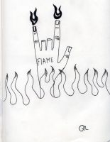 Flame by Deviantart-gleb