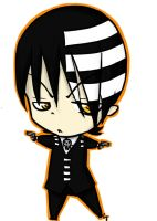 Death The Kid Chibi by Cayys