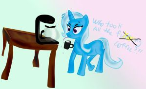 Who took all the Coffee? by xjrfang